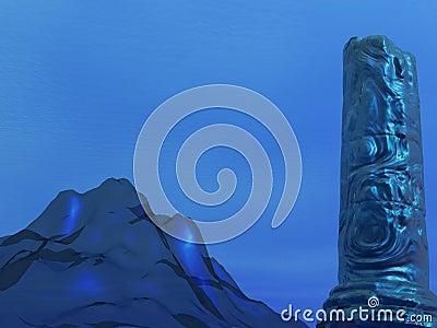Undersea Pillar