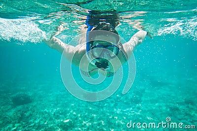 Undervattens- karibiskt hav