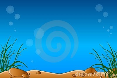 Underwater or Aquarium Scene