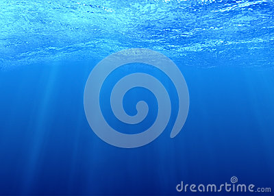 Underwater Background Stock Image - Image: 26338161