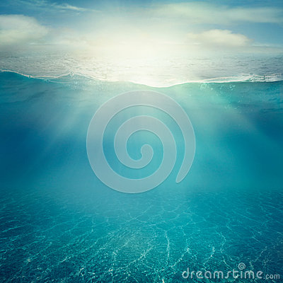 Free Underwater Background Royalty Free Stock Photography - 40394447