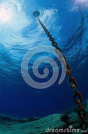 Underwater chain
