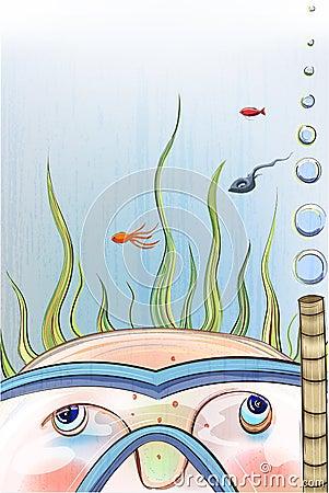 Underwater Child