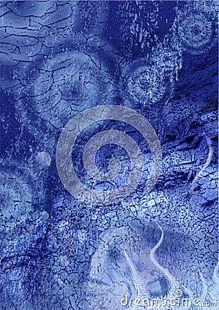 Underwater collage picture