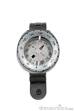Underwater compass.