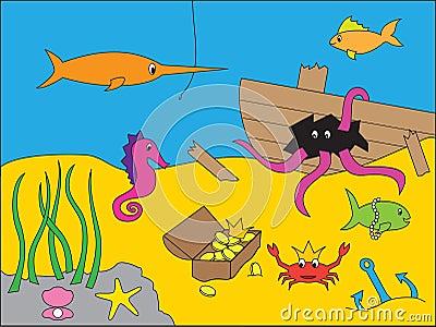 Underwater Drawing Sto...