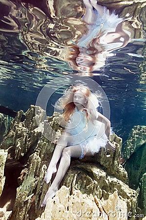 Underwater fairy tale