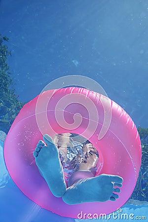 Underwater Feet