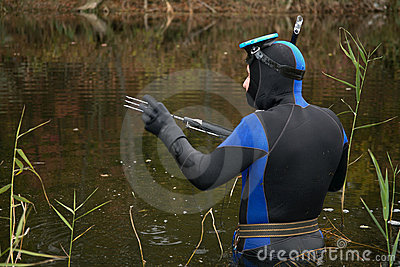 Underwater hunter