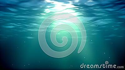 Underwater loop Stock Photo
