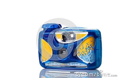 Underwater photo camera