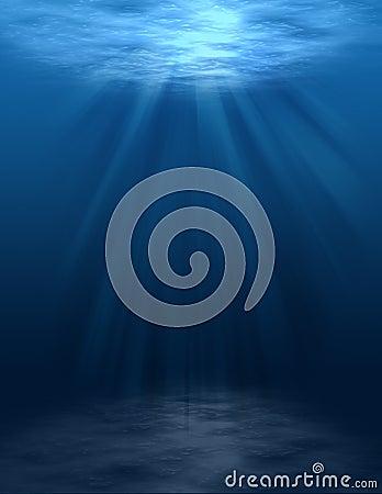 Underwater Scene (blank)