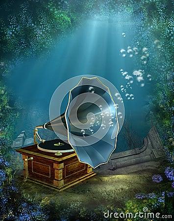 Underwater scenery 4