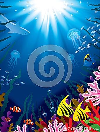 Free Underwater World Stock Image - 22962451