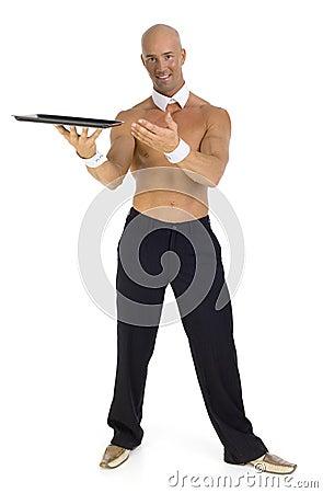 Free Undressed Waiter Stock Photo - 3002440