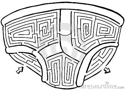 Undy maze