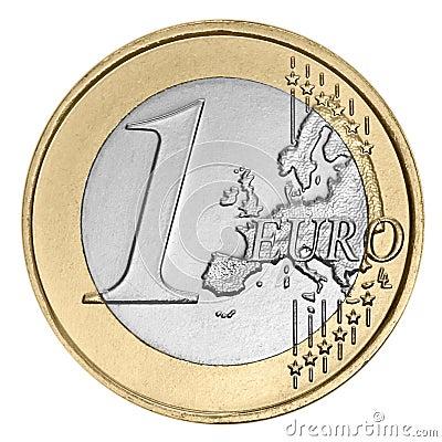 Une euro pi ce de monnaie photo libre de droits image 25111755 - Sol en piece de monnaie ...