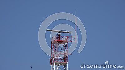 Une tour de radar clips vidéos