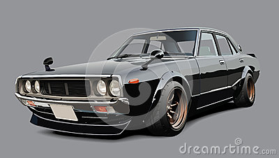 voiture de sport japonaise classique photographie stock libre de droits image 29799387. Black Bedroom Furniture Sets. Home Design Ideas