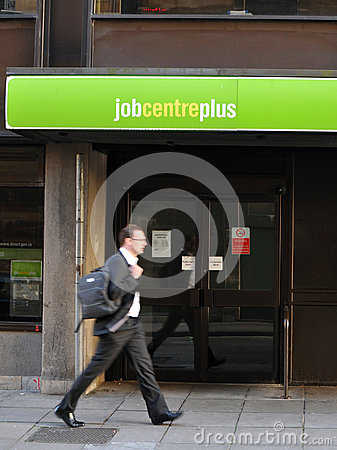 Unemployment Editorial Stock Image