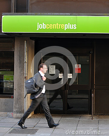 Unemployment Office Editorial Stock Image