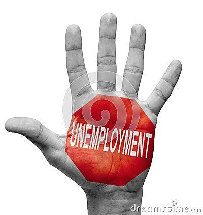 Unemployment. Stop Concept.