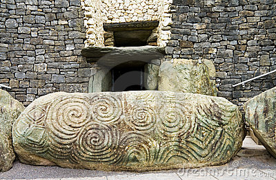 UNESCO Heritage - Triple Spiral at Newgrange