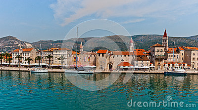 Unesco Heritage Trogir in Croatia