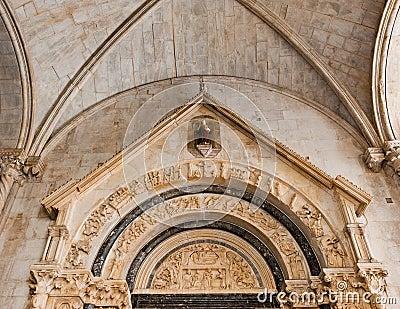Unesco Heritage Trogir in Croatia