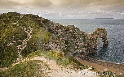 UNESCO World Heritage Site Jurassic Coast England
