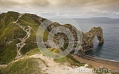 UNESCO World Heritage Site Jurassic Coast England