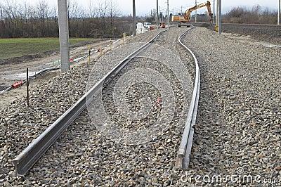 Uneven rails