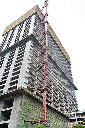 Unfinished building