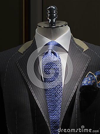Unfinished jacket at a tailor shop (vertical)
