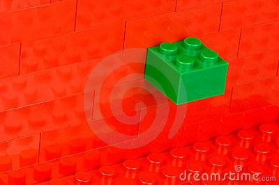 Unfitting building block