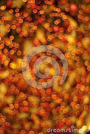 Unfocused soft lights