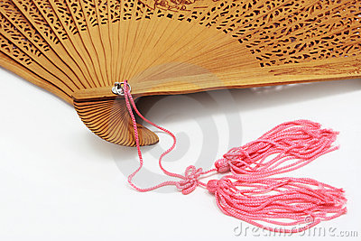 Unfolded Chinese Fan