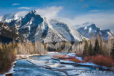 Unforgettable Canada-Kananaskis Country Stock Photos - Image: 24664863