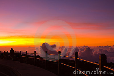 Unforgettable Sunset on Haleakala Volcano