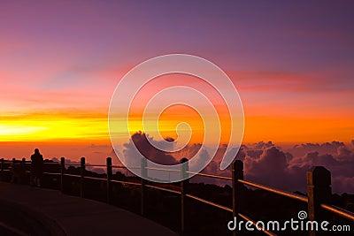 Unforgettable Sunset on Haleakala Volcano