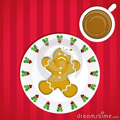 An Unfortunate Gingerbread Man