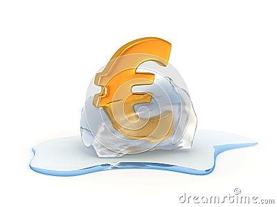Unfreezing euro sign