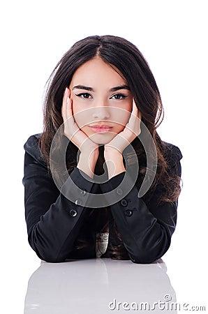 Ung affärskvinna
