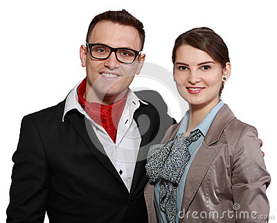 Unga lyckliga par