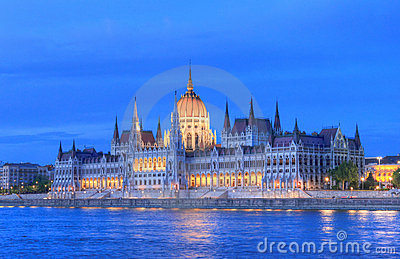 Ungarn-Parlament, Budapest
