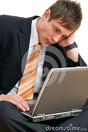 Free Unhappy Businessman  Stock Photo - 4462770