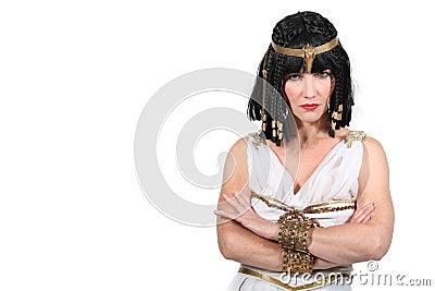 Unhappy Cleopatra