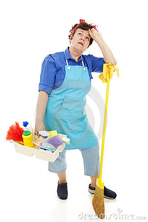 Unhappy Housekeeper