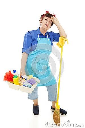 Unhappy Housekeeper