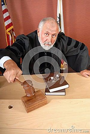 Free Unhappy Judge Stock Photos - 5084883